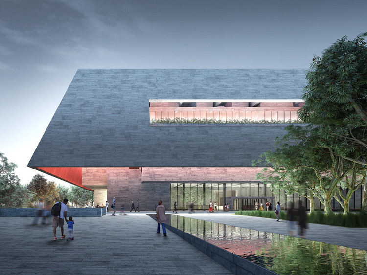 Designs by Adjaye Associates, BIG, DS+R Released for Adelaide Contemporary Museum, © Adjaye Associates and BVN / Malcolm Reading Consultants