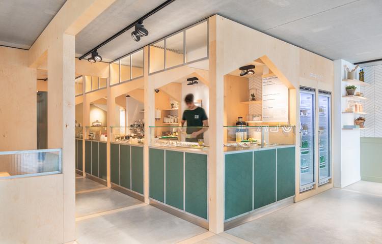 SLA Salad Bar / Standard Studio, © Wouter van der Sar