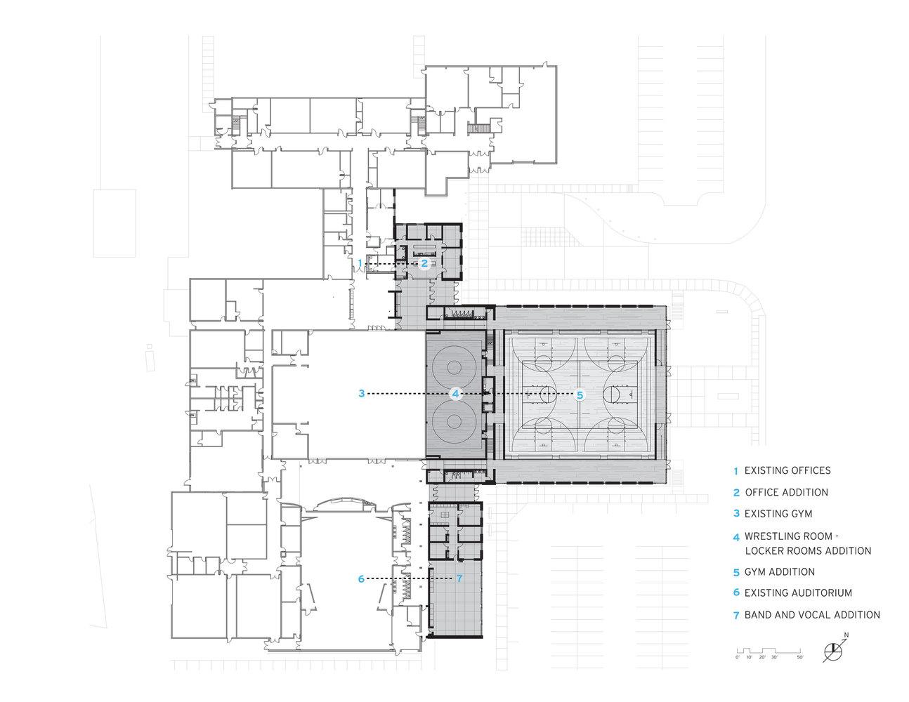 Gallery Of Cascade High School Expansion Neumann Monson Architects 12