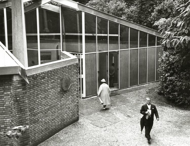 Pavilhão do Canadá na Bienal de Veneza 2018 explora sua própria arquitetura e restauro, Pavilhão do Canadá, 1957 ou 1958. Photo: NGC