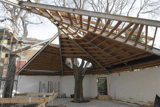 Canada Pavilion restoration, Spring 2017, National Gallery of Canada, Ottawa. Photo: Francesco Barasciutti