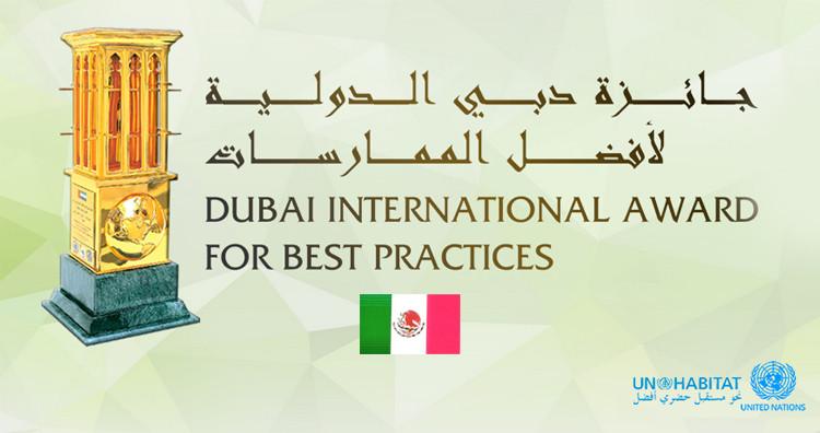 México triunfa en la categoría de Mejores Prácticas en Premio Internacional de Dubái, vía ONU-HÁBITAT