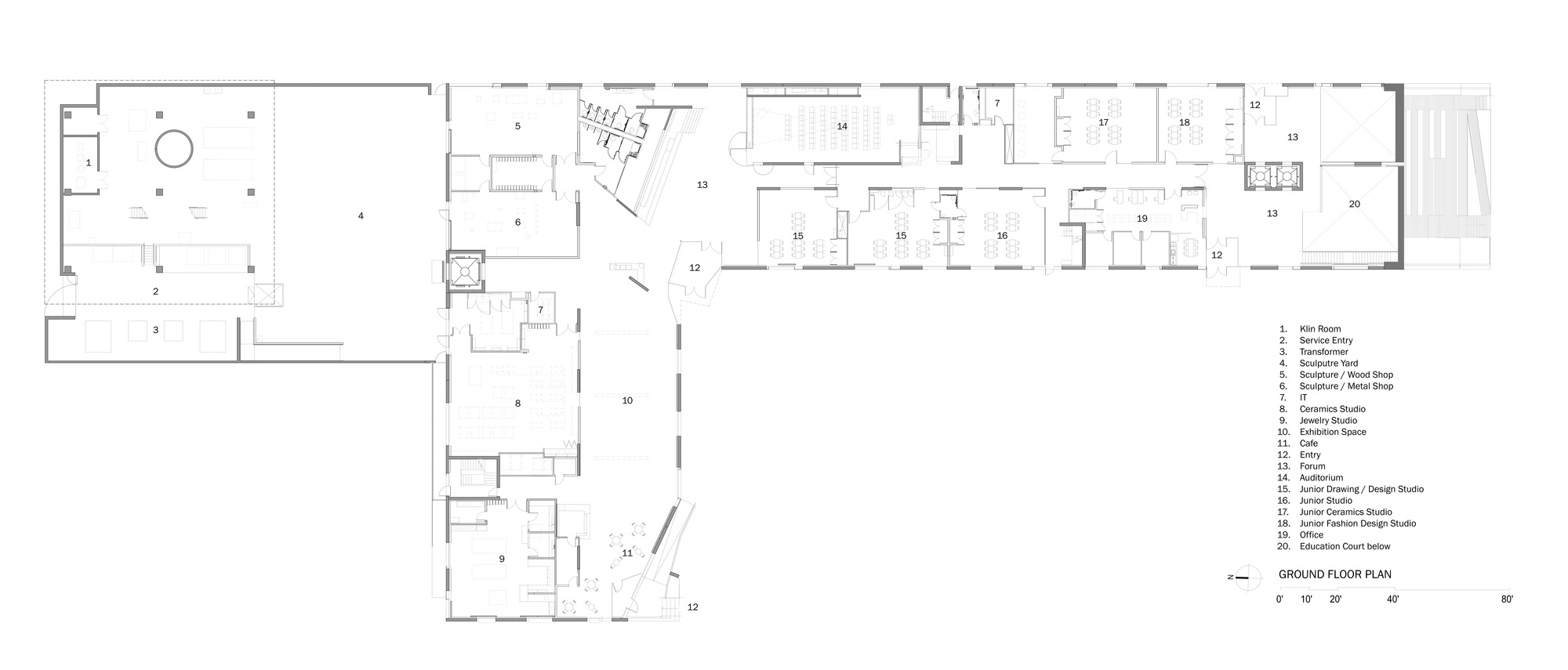 Gallery Of Glassell School Of Art Steven Holl Architects 11
