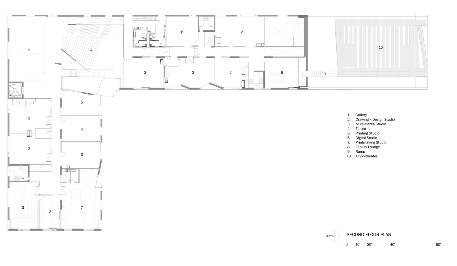 Gallery Of Glassell School Of Art Steven Holl Architects 13