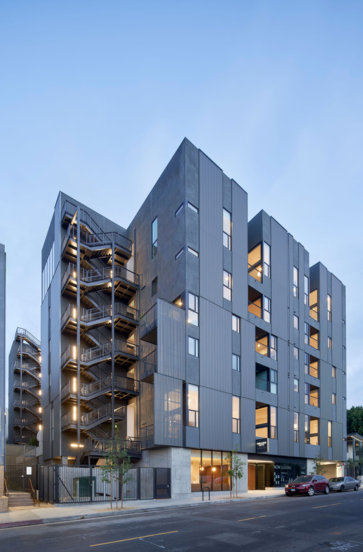 The Line Lofts / SPF: architects, © Bruce Damonte