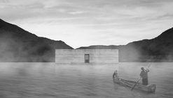 Cementerio Flotante de Alto Biobío se inspira en la cultura Pehuenche