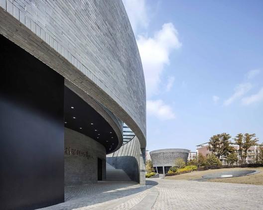 Pabellón Astronómico y Pabellón Planetario. Imagen © Hengzhong LYU