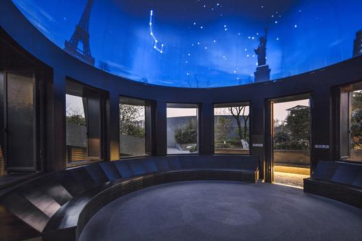 Interior del Pabellón Planetario. Imagen © Hengzhong LYU