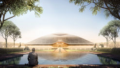 First Images Released of Foster + Partners Designs for Amaravati, the New Capital of Andhra Pradesh
