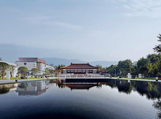 Main axis view. Image © Guangyuan Zhang