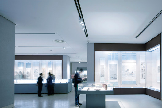 Exhibition Hall. Image Courtesy of CCTN Design