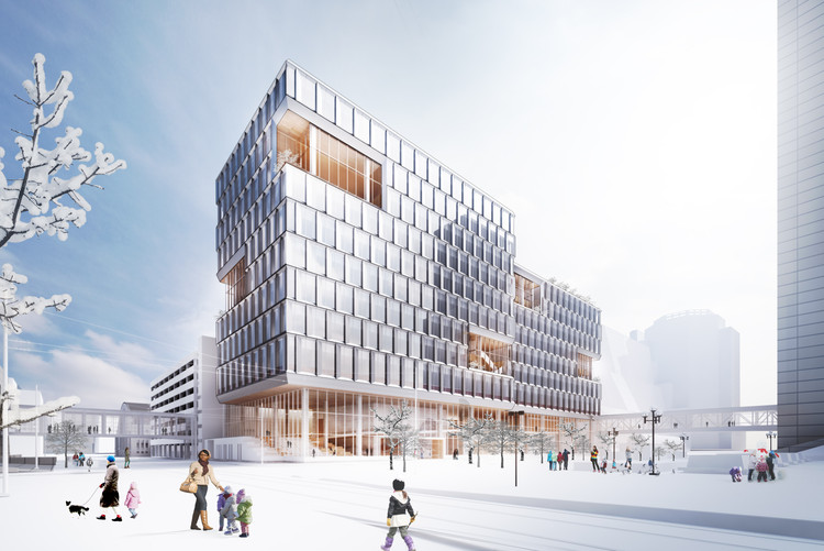 "Henning Larsen Brings a ""Scandinavian Design Approach"" to the City of Minneapolis, Courtesy of Henning Larsen"