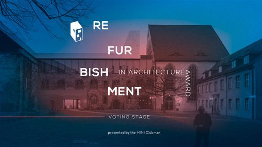 Conheça os 15 finalistas dos prêmios Refurbishment in Architecture 2018 do ArchDaily