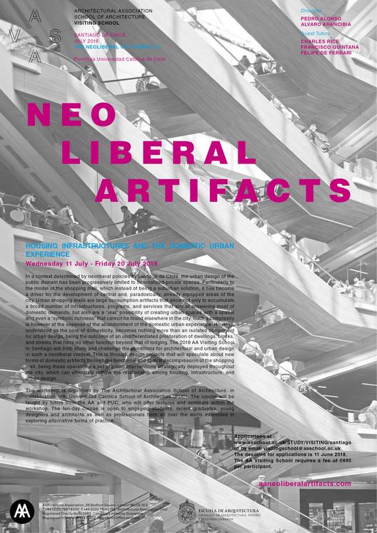 AA Visiting School Santiago: Artefactos Neoliberales, Fotografía: Alvaro Arancibia