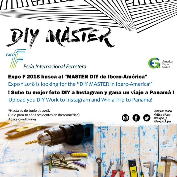 "Expo F 2018 busca al ""Master DIY de Ibero-América"""