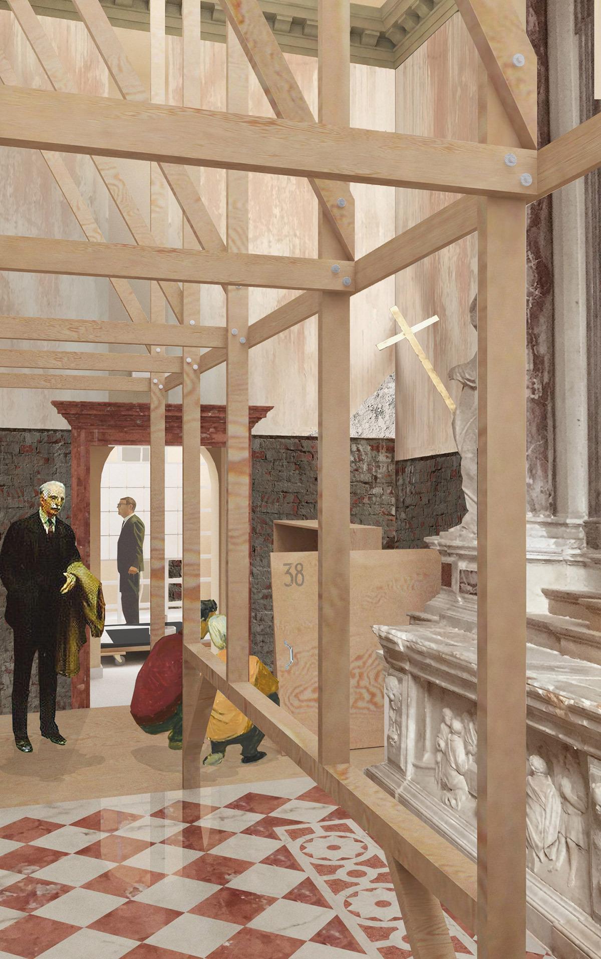 Estonian pavilion at 2018 venice biennale to demonstrate for Biennale venezia 2018