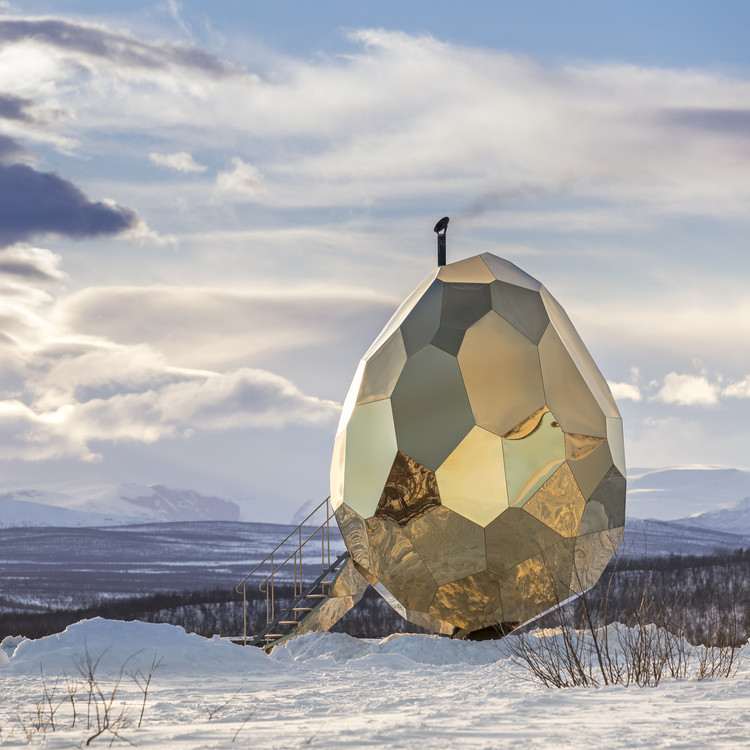 A' Design Award Announces 2018 Winners, Solar Egg Public Sauna by Futurniture and Bigert & Bergström - Golden A' Design Award Winner for Architecture, Building and Structure Design Category in 2018. Image Courtesy of A' Design Award & Competition