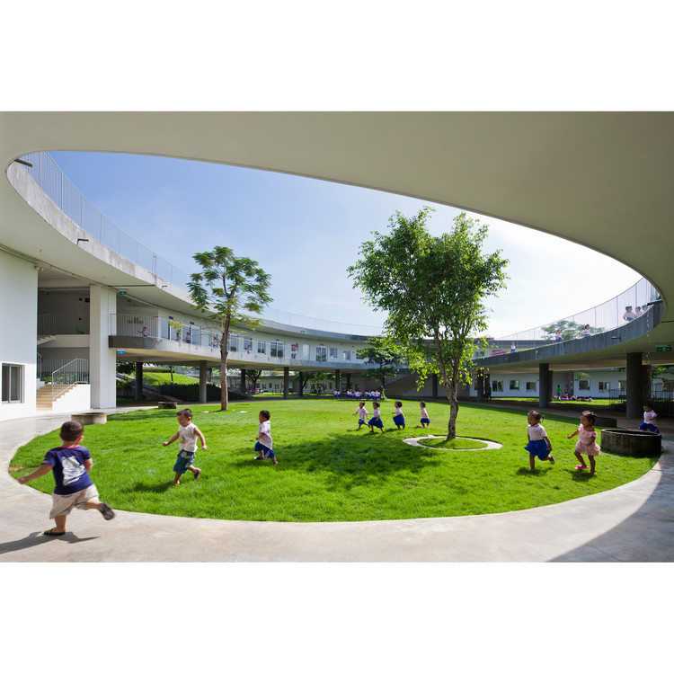 Farming Kindergarten by VTN Architects - Golden A' Design Award Winner for Architecture, Building and Structure Design Category in 2018. Image Courtesy of A' Design Award & Competition
