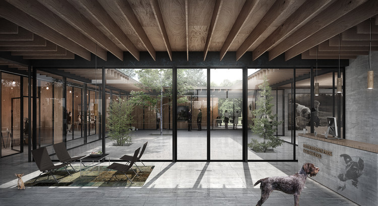 Dogchitecture: WE Architecture Designs a Center That Challenges Traditional Animal Shelters, Courtesy of WE Architecture
