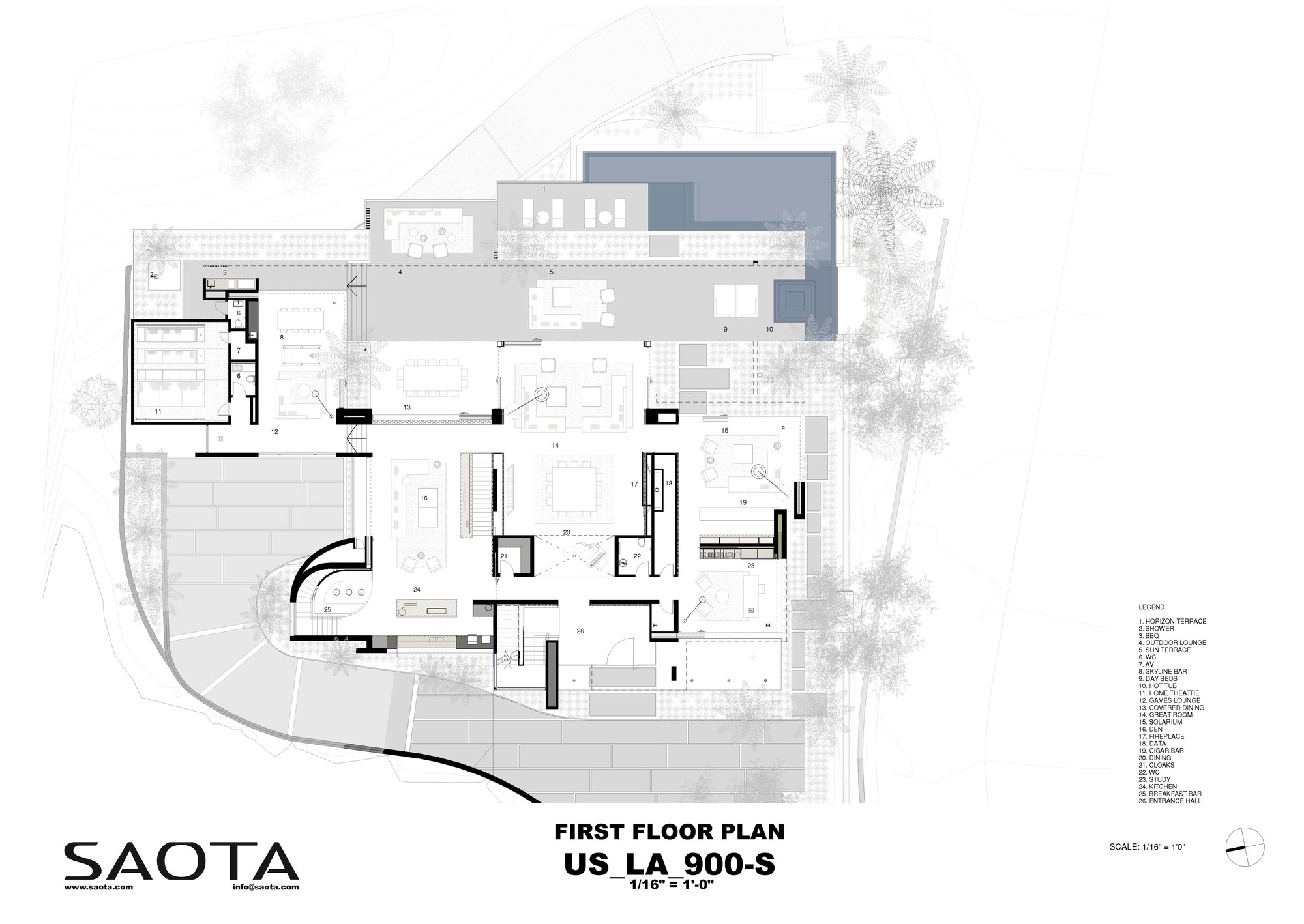 Afc Floor Plan >> Gallery of Stradella / SAOTA - 16