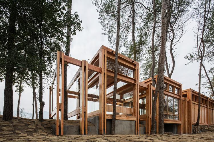 Pabellón Parque de Pinos / DnA, © Ziling Wang