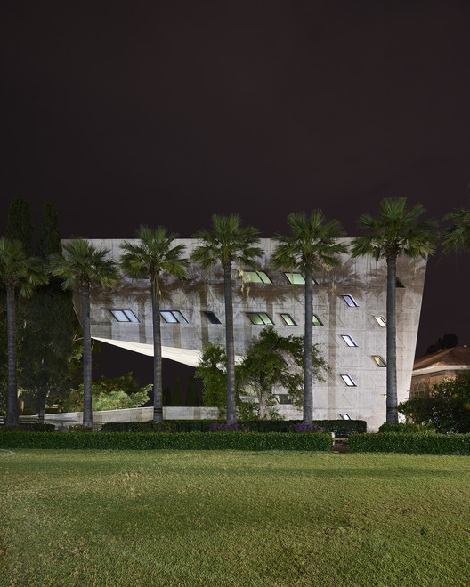 Zaha Hadid's Issam Fares Institute Stands Out in New Photography by Bahaa Ghoussainy