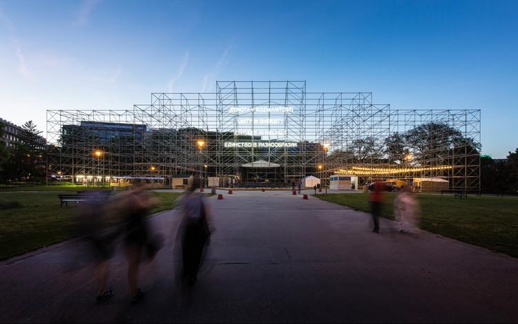 Pavilhão da Humanidade / CHYBIK+KRISTOF, © Lukas Ildza