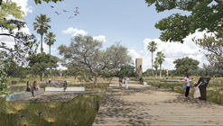 3º lugar no concurso para o Masterplan ORLA LIVRE do Lago Paranoá, Brasília, por Atelier77