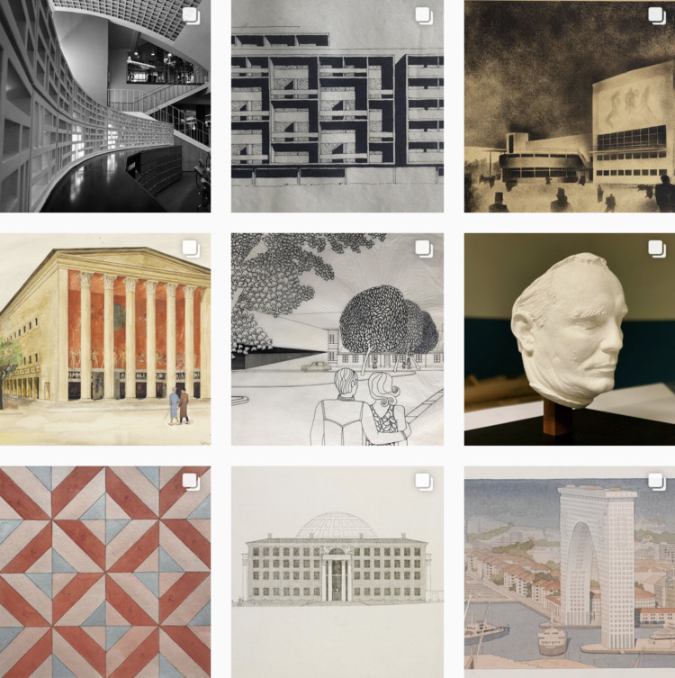 ArkDes Launches New Instagram Uncovering Hidden Objects From Sweden's National Architecture Collection, Courtesy of ArkDes