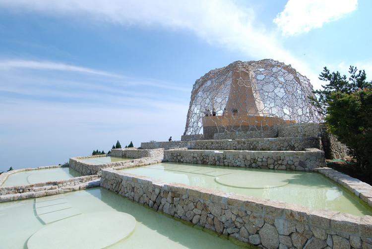 Rokko Observatory. Image © Sambuichi Architects