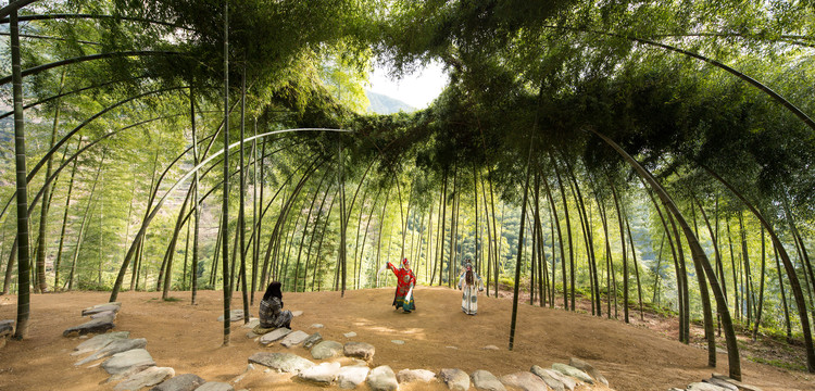 Super Bamboo Theatre / DnA | ArchDaily &ZH_77
