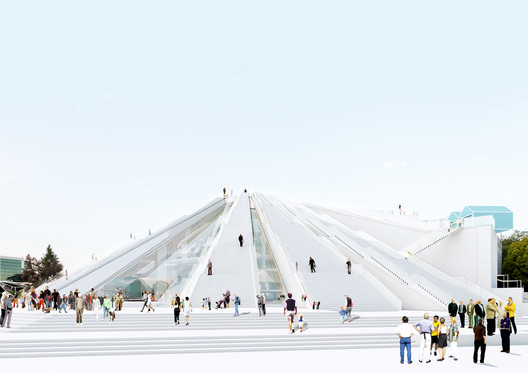 MVRDV to Transform Communist-Era Pyramid into Center for Art and Technology in Albania