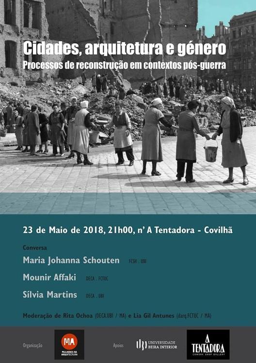 Cidades, Arquitetura e Género. Processos de reconstrução em contextos pós-guerra.