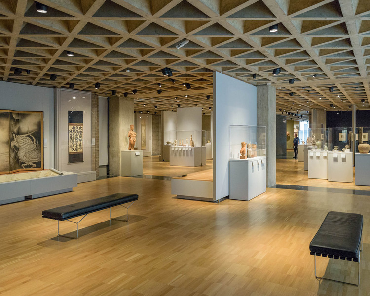 ad classics yale university art gallery louis kahn archdaily