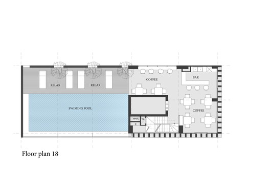 18th Floor Plan