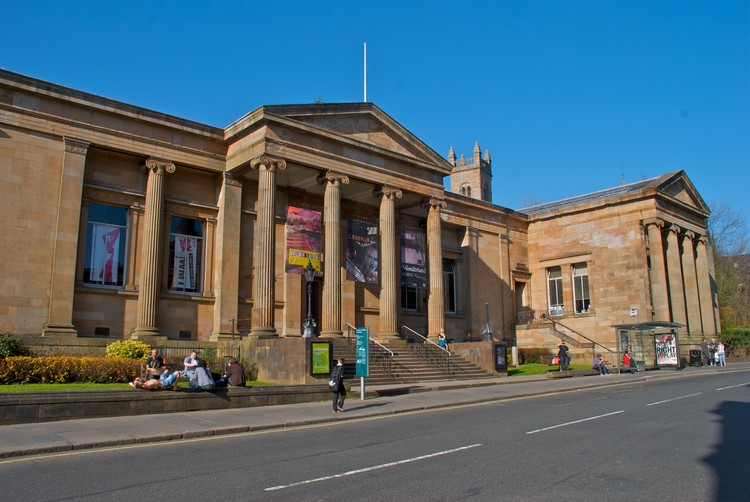 AL_A Selected for $55Million Renovation and Extension of Scotland's Paisley Museum, Exterior of the Paisley Museum. Image Courtesy of Paisley Museum