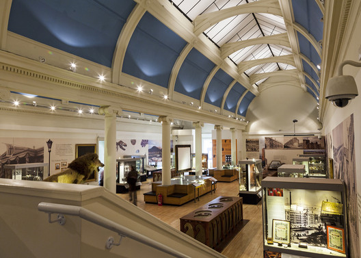 Pillar Gallery at the Paisley Museum. Image Courtesy of Paisley Museum