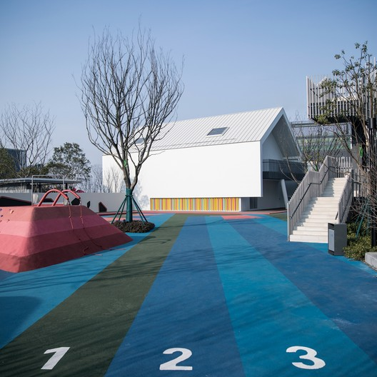 Activity space. Image © Xin Nie