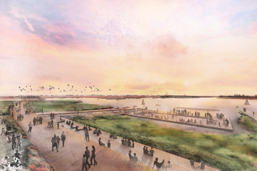 The Estuary Commons: People, Place, and Path Forward - All Bay Collective. Image Courtesy of Resilient by Design