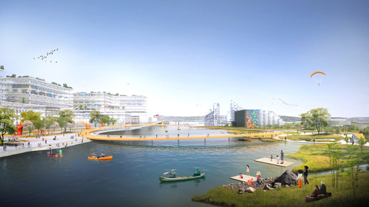Islais-Creek - Hyper Creek - BIG + ONE + Sherwood. Image Courtesy of Resilient by Design