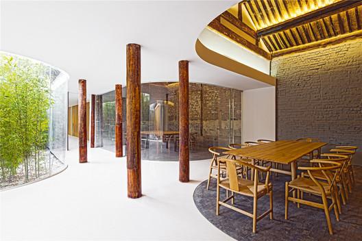 Tea House in Hutong, 2015. Image © Wang Ning