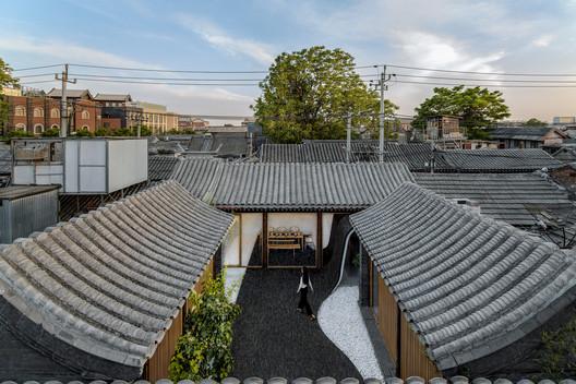 Twisting Courtyard, 2017. Image © Wang Ning, Jin Weiqi