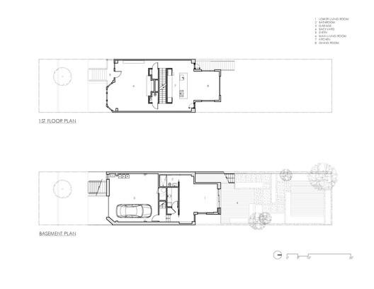 Ground + First Floor Plans