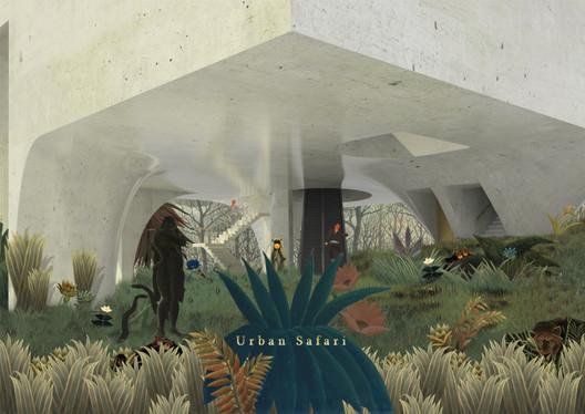 Urban Safari / Sungbum Heo from Hanyang University. Image via YTAA - Young Talent Architecture Award
