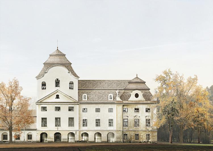 Manufaktur Schloss Welsberg / Stegan Prattes from Graz University of Technology. Image via YTAA - Young Talent Architecture Award