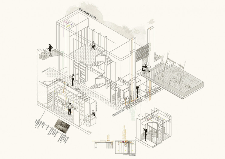Towards a new individual place: A self-sufficient community / Guillem Pascual Perello from Polytechnic University of Catalonia. Image via YTAA - Young Talent Architecture Award