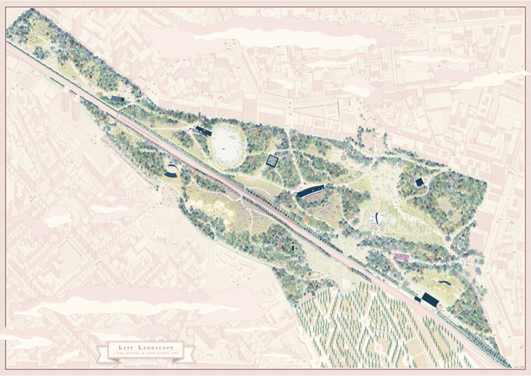 Last Landscape / Simone Marchetti, Sofia Paoli, Beatrice Maria Rogantini Picco from Polytechnic of Milan. Image via YTAA - Young Talent Architecture Award