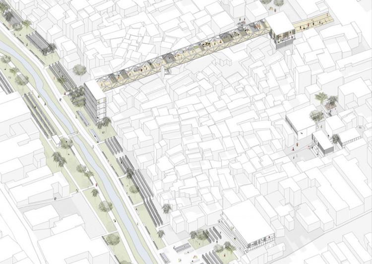 Agua Espraida Urban Integration / Beatrice Gevi from University of Genoa. Image via YTAA - Young Talent Architecture Award