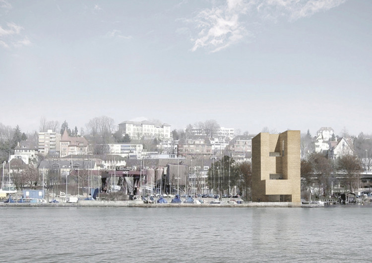 Powerful spaces / Diogo Veiga from Porto University. Image via YTAA - Young Talent Architecture Award