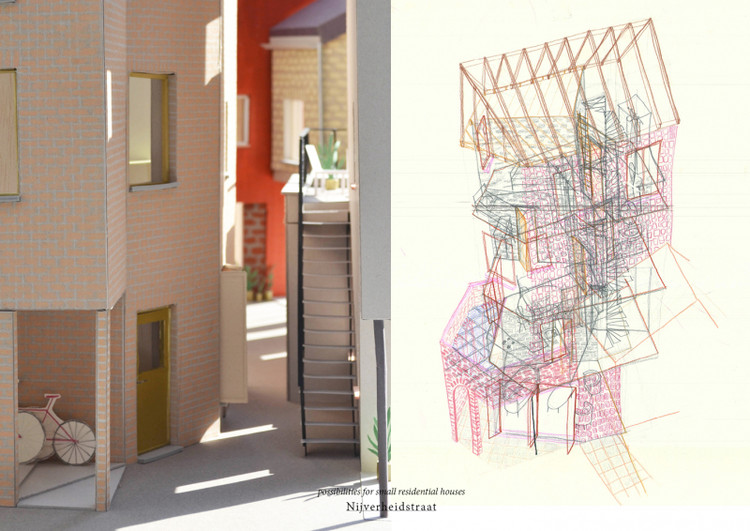 May I use the front/backdoor? / Nele Bergmans from Catholic University of Leuven. Image via YTAA - Young Talent Architecture Award